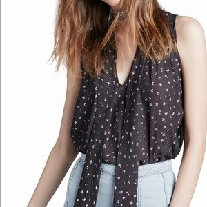 Free People Tie Front Tank